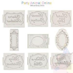 Katy-sue-Designs-Stampi-in-Silicone-Placca-Artigianato-e-Decorazione-per-Torta-Strumenti