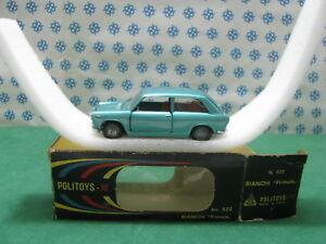 Vintage-AUTOBIANCHI-PRIMULA-1-43-Politoys-M522-Mint-box