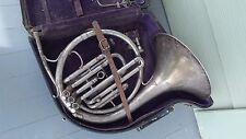 Vintage Conn French Mellophone Circular Alto Horn 1919