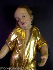 grosser Barock Engel im Kleid - um 1750 - sehr schön - 53cm ( Nr. 2)