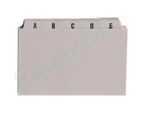 A-Z-Index-Record-Guide-Cards-Size-6-034-x-4-034-152-x-102-Same-Day-Dispatch