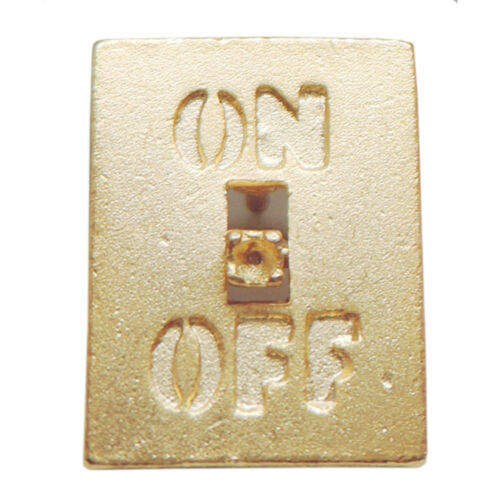 Reduced Vintage On//Off Switch Tac Pin Jonette Jewelry
