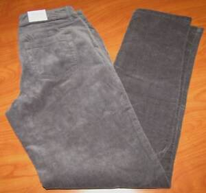 exquisite craftsmanship new design save up to 80% Details about NEW CROFT & BARROW WOMENS STRAIGHT LEG FORGED IRON EVERMORE  GRAY CORDUROY PANTS