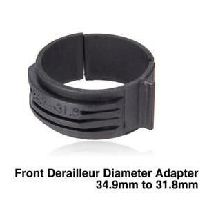 Bicycle Bike Front Derailleur Clip Adapter Clamp Diameter Converter 28.6mm to