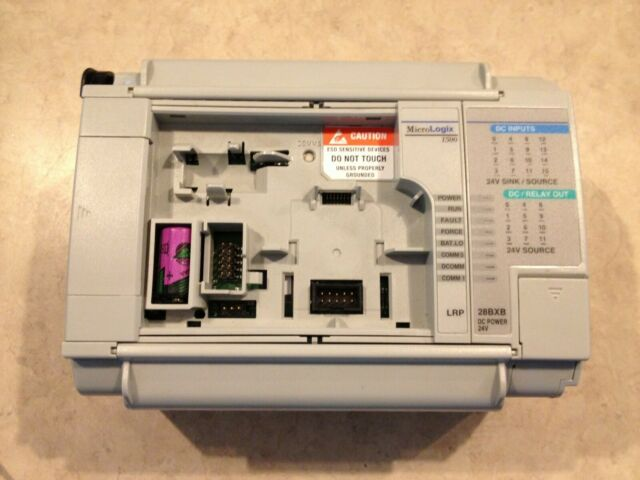 ALLEN-BRADLEY MICROLOGIX 1500 WITH 1764-28BXB BASE USED