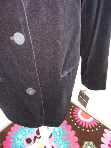 Den S 100 Black Størrelse Limited Coat Cotton Velvet zxrzw0U