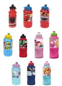 Kids-Ergo-Sports-Drinking-Water-Bottle-Travelling-Lunchbox-School-gift-3-y