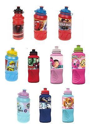 School Kids Ergo Sports Drinking Water Bottle Travelling Lunchbox gift 3+y