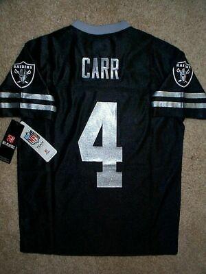 Men/'s Big /& Tall NFL Oakland Raiders Derek Carr #4 Adult Jersey T-Shirt XXL 2XL