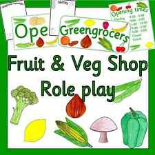 Peeks Healthy Eating Week Fruit Vegetable Heart School Shop Promotional Bunting