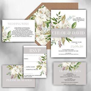 Personalised-Luxury-Rustic-Wedding-Invitations-GREY-WHITE-IVORY-packs-of-10