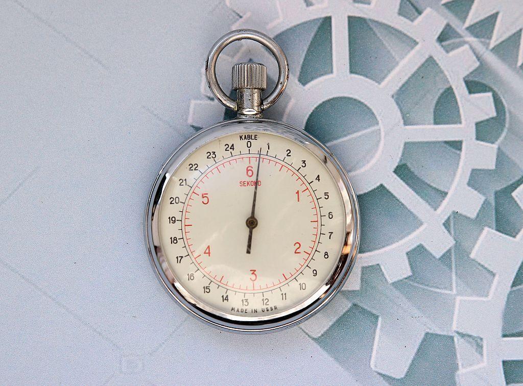 Chronoscope SEKOND 6 sec USSR vintage  stopwatch