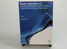 Adobe Photoshop CS3 full retail sealed 13102479 OS X genuine