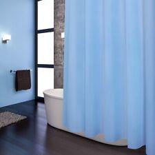Duschvorhang 180*180cm Weiß Blau Grau Anti Schimmel Textil Mode DE Neu