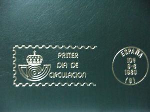 COLECCIoN-DE-100-SOBRES-PRIMER-DIA-DE-CIRCULACION-SELLOS-DE-ESPANA-1992-TO-1995