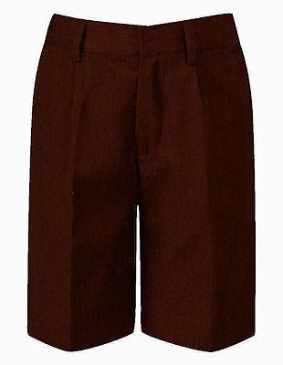 David Luke Brand Classic Style BROWN School Shorts