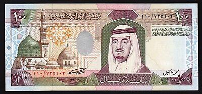 Saudi Arabia 1 Riyal 1984 King Fahd Sign 6 5 PCS LOT P-21d UNC