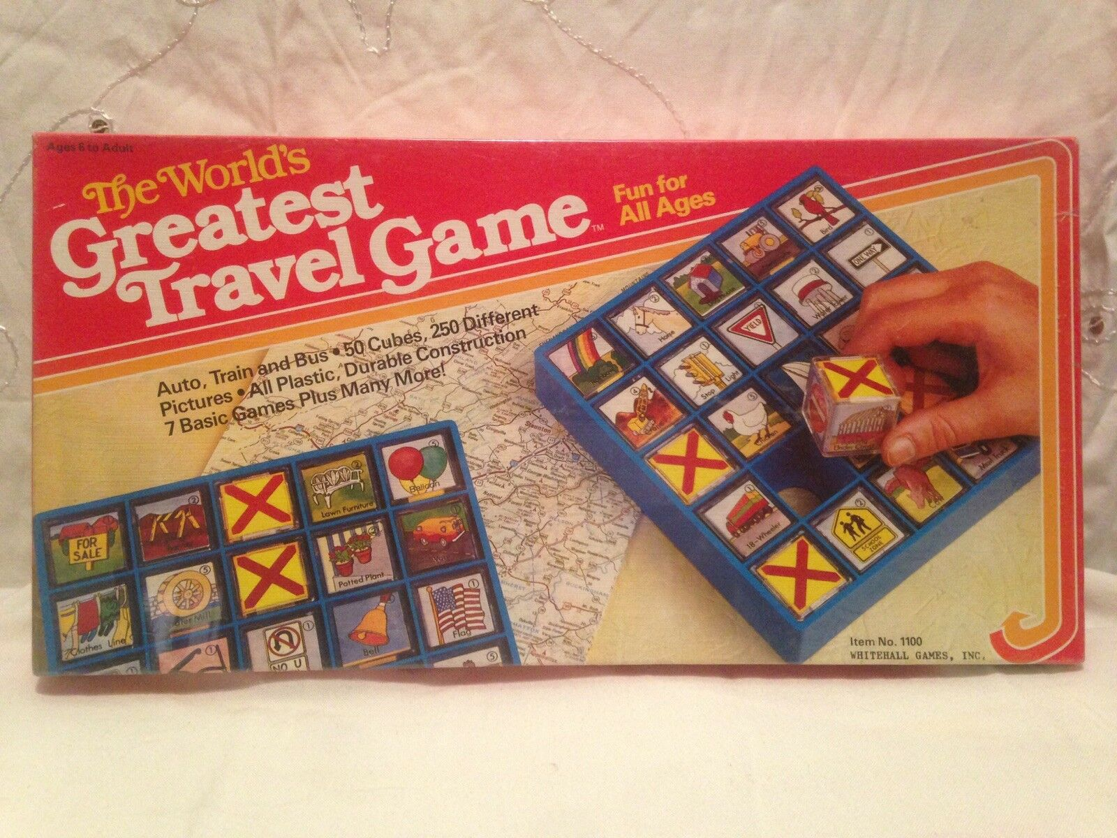 Worlds Greatest Travel Game-New  1985