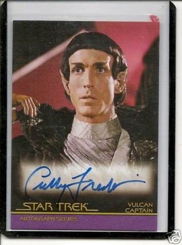 Star Trek Movies The Comple35 C.Fredrickse auto card
