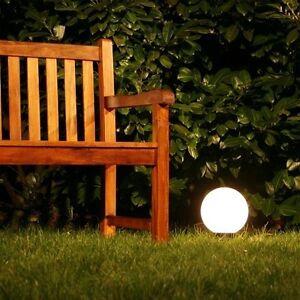 Boule lumineuse Lampe extérieure Luminaire jardin globe éclairant Ø ...