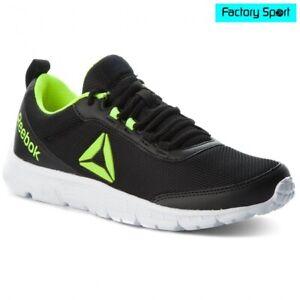 Detalles de Reebok Speedlux 3.0 negro zapatillas deportivas running para hombre