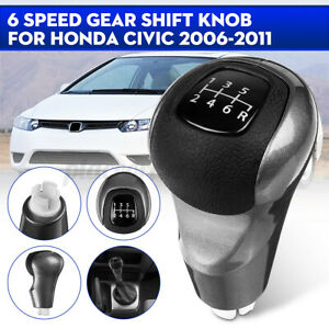 6-Speed-Manual-MT-Gear-Stick-Shift-Knob-Lever-Shifter-For-Honda-Civic-DX-EX