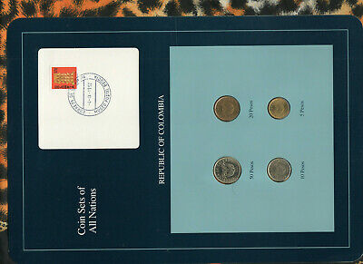 Coins of All Nations Colombia 1981 10 Pesos UNC