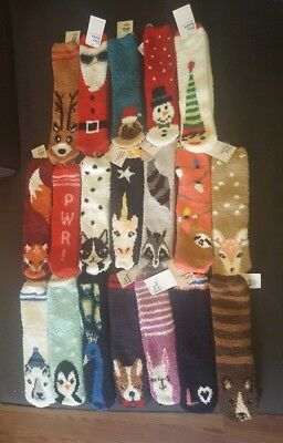 Brand New! 2 sold out Old Navy Cozy Fuzzy Socks 15 Different Variations left