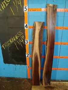 # 7405 2, Black Walnut Live Edge Slabs lumber craft wood