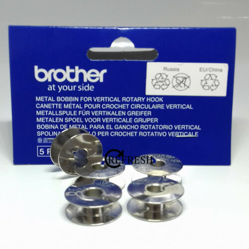 Metal Bobbins To Fit Brother VR Single Needle Embroidery Machine