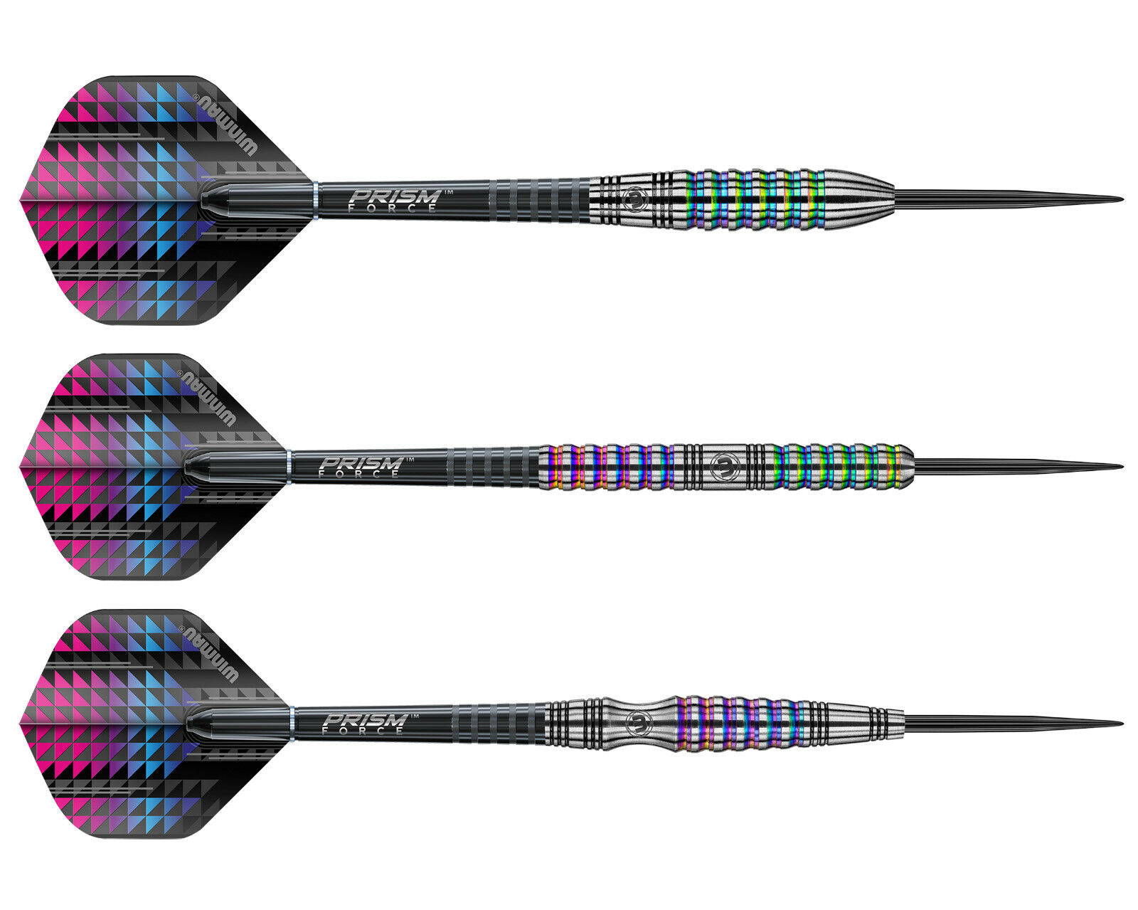 Winmau Pulsar Urban Grip Steel Tip Darts