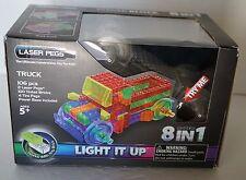 Laser Pegs 8 in 1 Truck ~ Power Block Series ~ New In Package