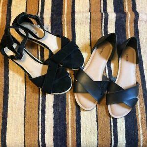 Size 11W Sandals, Plus Size Shoes