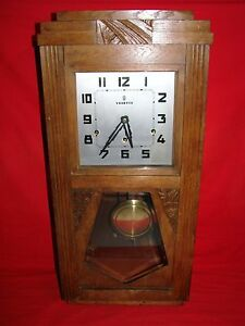 ancien carillon vedette 8 tiges 8 marteaux horloge mouvement old clock ebay. Black Bedroom Furniture Sets. Home Design Ideas