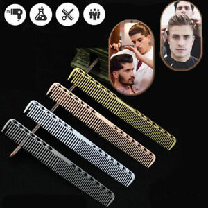 Aluminum-Metal-Cutting-Comb-Barbers-Salon-amp-Hair-Hairdressing-Professional-Combs