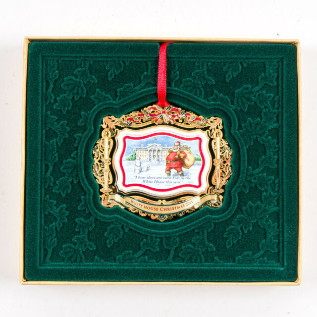 New 2011 White House Christmas Ornament Historical ...