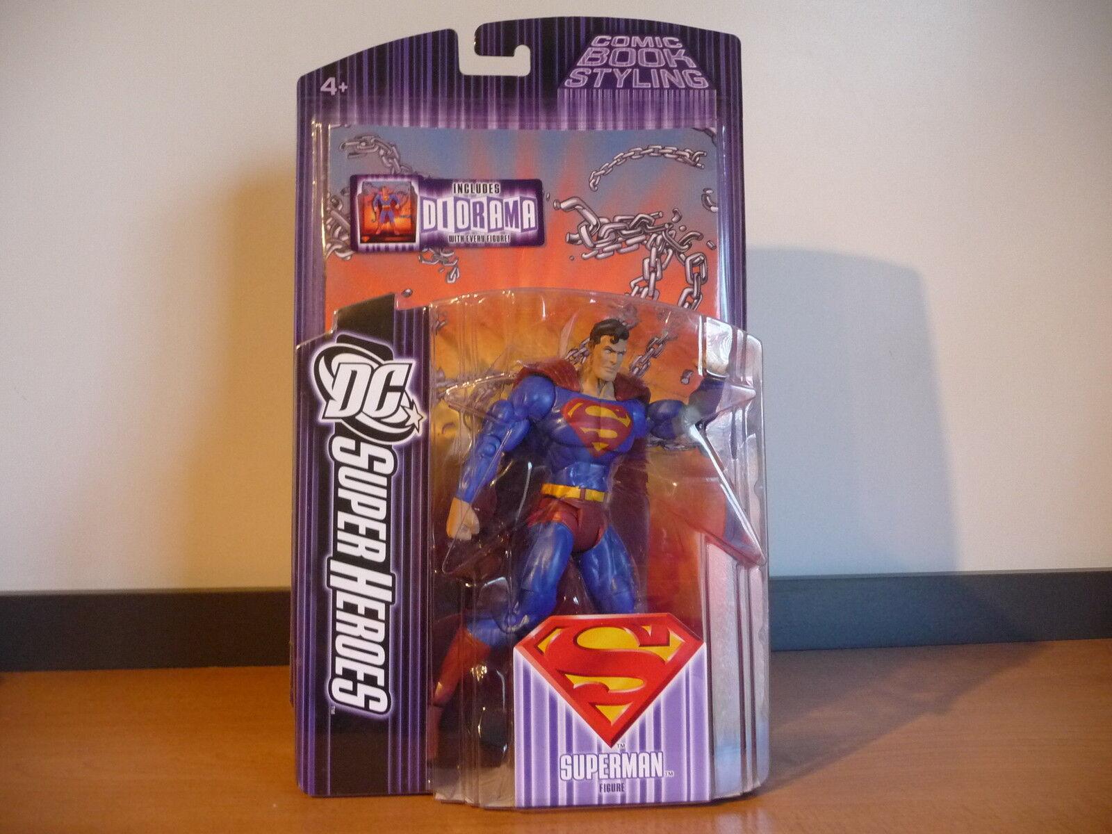 MOC DC Super Heroes S3 Select Sculpt Superman 2007