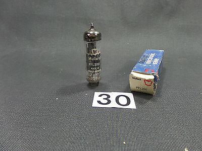 Humor Mullard Pfl 200 Tube (30)vintage Valve Tube Amplifier/nos Weelderig In Ontwerp