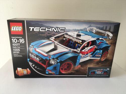 Lego Technic Rally Car 42077 New NSB 100/% Trusted Lego Seller