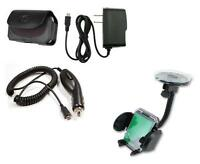 Car Holder+car+wall Charger+case For Verizon Lg Cosmos 3 Iii Vn251s, Exalt Vn360