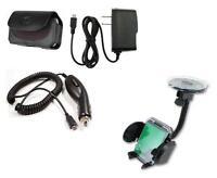 Car Holder+car+wall Charger+case For Verizon Motorola Droid Razr M Xt907 Xt905