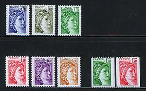 FRANCIA-FRANCE-1979-MNH-YT-2056-2063-Sabine