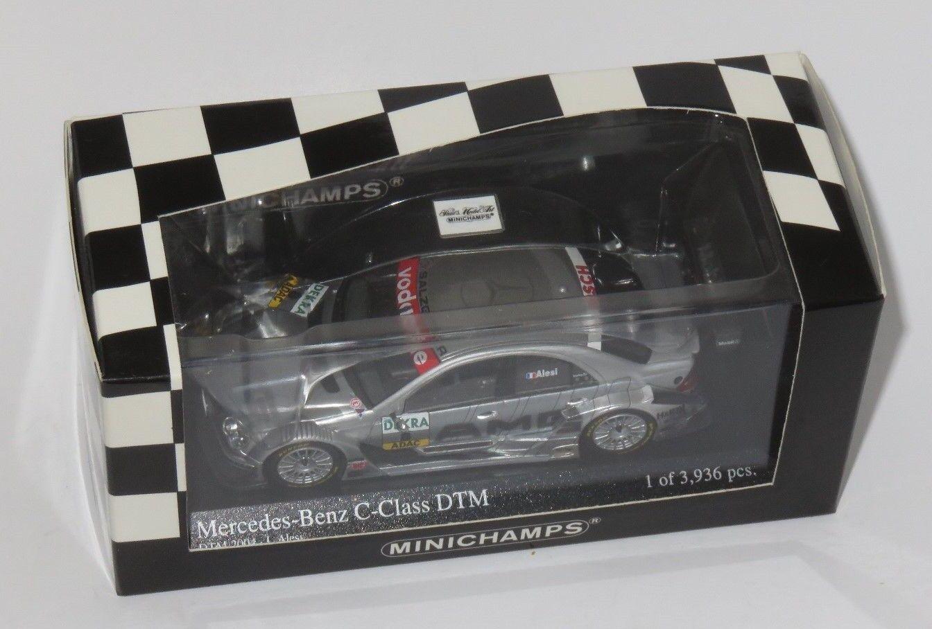 1 43 Mercedes Benz C Class  Team AMG  DTM 2004    Jean Alesi