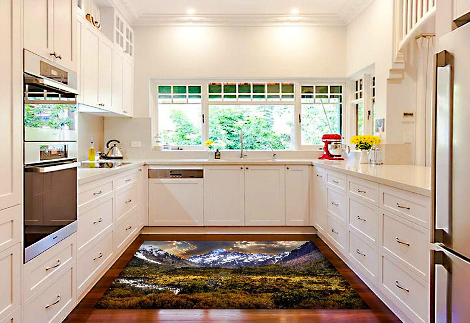 3D Mountains 259 Kitchen Mat Floor Murals Wall Print Wall Deco AJ WALLPAPER CA