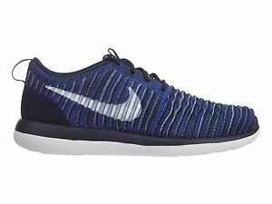 487b3c01d411 Nike Roshe Two Flyknit Big Kids 844619-401 College Navy Athletic ...