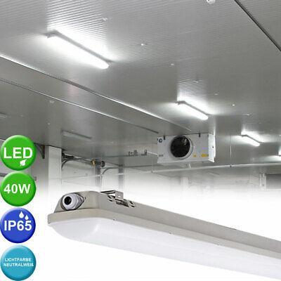 40W LED Wannen Leuchte Garagen Industrie Lager Hallen Tages Licht Decken Lampe