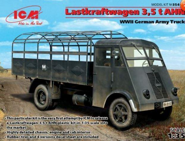 (ICM35416) - ICM 1:35 - Lastkraftwagen 3,5 t AHN, WWII Army Truck