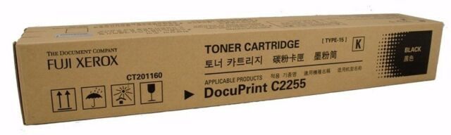 Xerox Genuine CT201160 BLACK Toner For DOCUPRINT C2255 -  15,000 Pages