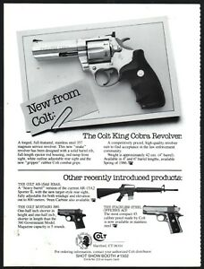 1985-COLT-New-King-Cobra-Revolver-available-Spring-1986-PRINT-AD