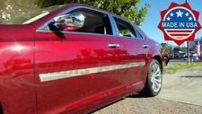 Fit2011 2021 Chrysler 300300c 4pc Stainless Flat Body Side Molding Trim 2 Fits Chrysler 300